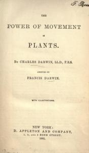 The Power of Movement in Plants by Charles Darwin (1880)